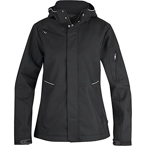 Texstar WJ80 3L - Chaqueta softshell para mujer (talla M), color negro