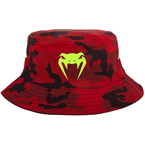 Venum Atmo Bucket Hat, Rot-Tarnen, L/XL