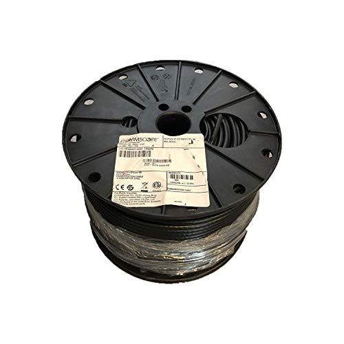 500' Reel Spool COMMSCOPE F677TSVV RG6 Single Cable Coax COAXIAL Satellite - Black