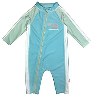 SwimZip Little Girl Long Sleeve Sunsuit with UPF 50 Sun Protection,Beachy Bum,12-18 Month (B07CV12ZZY) | Amazon price tracker / tracking, Amazon price history charts, Amazon price watches, Amazon price drop alerts