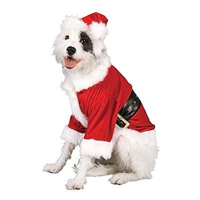 Rubie's Christmas Pet Costume, Santa Claus, Medium from Rubies Decor