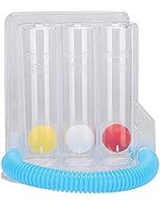 Ejercitador de pulmón de respiración profunda Espirómetro de incentivo de 3 bolas Espirómetro de incentivo Sistema de medición de la respiración