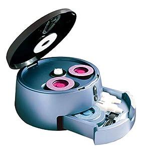 Limpiador y reacondicionador de discos de DVD/CD profesional - Limpia discos Blu-Ray
