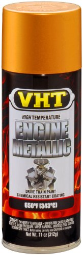 VHT SP404 Engine Metallic Gold Flake Paint Can - 11 oz.