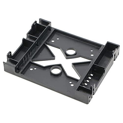 Qewrt Posición de la Unidad óptica de 5,25 Pulgadas a 3,5/2,5 Pulgadas HDD SSD Adaptador Soporte Soporte de Disco Duro Adaptador de Ventilador de 8 cm para Carcasa de PC