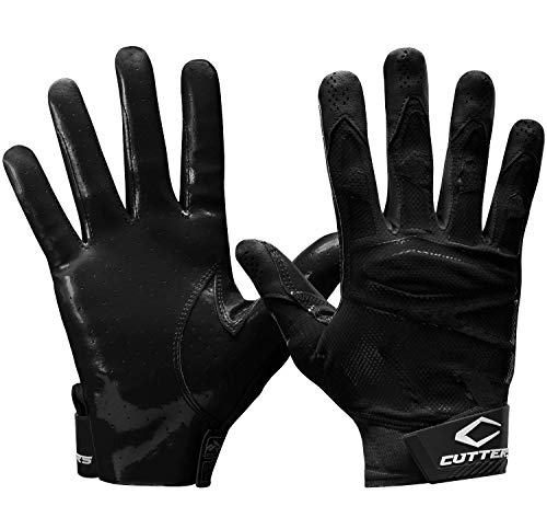 Cutters REV PRO 4.0 Receiver Glvs Solid Black A/M