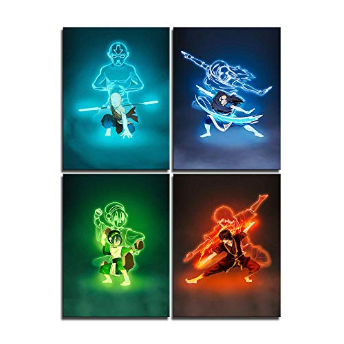 Anime Poster Avatar The Last Airbender Canvas Art Poster