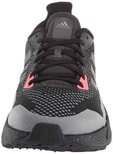 adidas Zapatillas de correr para hombre X9000l2, (Negro/Noche Metálico/Gris), 40 EU
