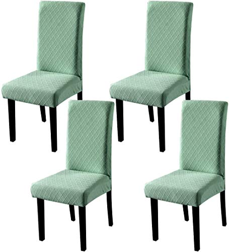 Mazu Homee Elastic Dining Chair Cover, Removable and Washable Restaurant Chair Cover, Spandex Chair Cover, Chair Cover for Restaurant