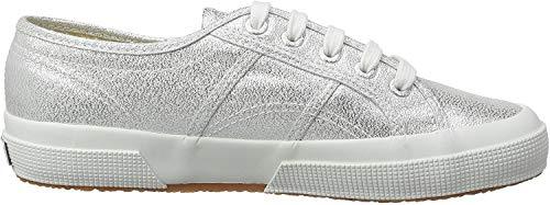 Superga Damen 2750 Lamew Sneakers, Silber (Grey Silver 031), 38 EU