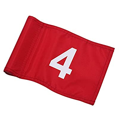 KINGTOP Numbered Golf Flag