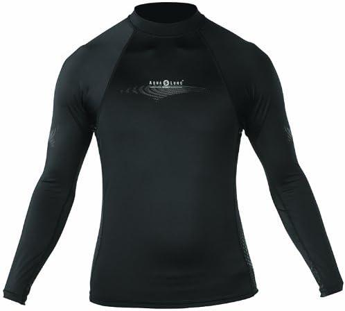 Aqualung Lycra Skin Wetsuit Rash Guard, Long Sleeve, Men's - MD
