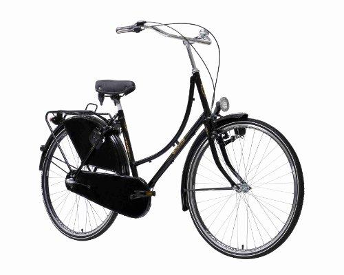 Karcher Holland Nostalgierad, 3-Gang Rücktrittbremsnabe, schwarz, Rahmenhöhe: 50 cm, Reifengröße: 28 Zoll (71,1 cm), 280156