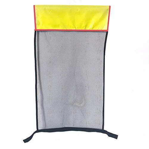 Schwimmnudel Pool Schwimmstuhl Schwimmbad Sitze Schwimm Bett Stuhl Pool Nudel Sommer Party Stuhl 80 × 44cm – Schwimm-Noodle –(Wassersitz Netz für Pooln(Poolnudel Nicht enthalten)) (Gelb)
