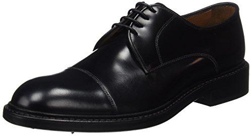 Lottusse L6723, Zapatos Derby Hombre, Negro Jocker