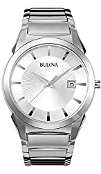 Stainlesss Steel White dial Date