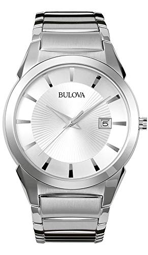 Bulova Men's Classic Stainless Steel Dress Watch