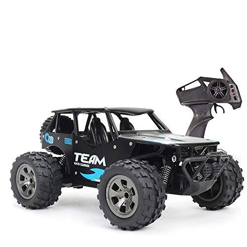 Coches de control remoto 4WD Vehículo todoterreno 25 km / h Radio Camión sobre orugas Extra Rock Motores duales Eléctrico Fast Racing Buggy Hobby con carcasa de metal Vatos Monster High Speed Toy
