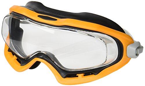 ミドリ安全 保護めがね ビジョンベルデ ゴーグル ゴーグラスR 曇り止め加工 フレームカラー : オレンジ/ブラック VG503F