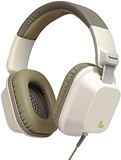 Panasonic RP-HXD7WE-W 大号坚固设计耳机,音量控制和进线麦克风 - 父级 AsinRP-HXD7WE-W