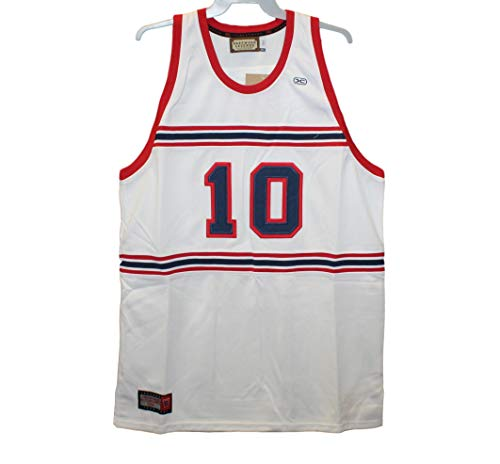 Head Master Cups Winston Salem Rams - Earl Monroe #10 White Throwback Jersey, 5XL