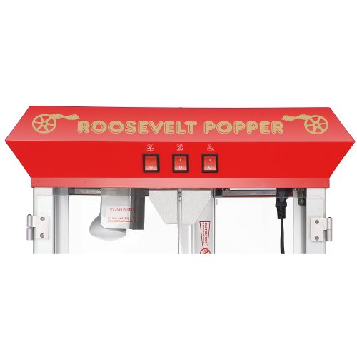 Product Image 5: 6010 Great Northern Red 8oz Roosevelt Antique Countertop Style Popcorn Popper Machine