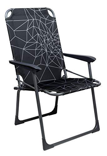 Portal Outdoors Folding Chair Portal Outdoor Fusina-Silla Plegable para Camping, Unisex Adulto, Gris, Talla única