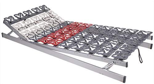 HHK Tellerfeder Lattenrost Proform Verstellbar Tellerrost Tellerlattenrost + Alle Maße (120 x 200 cm)