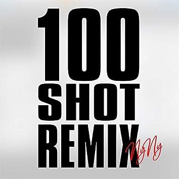 100 Shot Remix (feat. Frankie Staywoke, Lady Shocker, DeyluvL, RaggZ, D.Tail, Miz)
