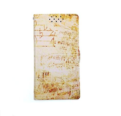 Stengh Archos Diamond Omega Hülle, Flip Phone Wallet mit Kartenschlitzen Standfunktion Magnetisch Off Phone Hülle YP