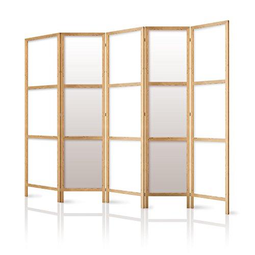 murando - Biombo XXL 225x171 cm - 5 Paneles Lienzo de Tejido no Tejido