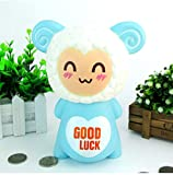 amazyn Cartoon Dora Sheep Piggy Bank Lamb Glue Piggy Bank Decoration