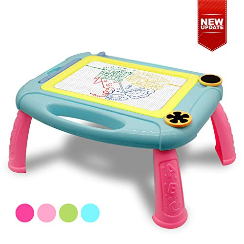 Baby Toys for 1-5 Year Old Toddlers, Magnetic Drawing Pad -Travel Size for 2-6 Year Old Kids Toy Drawing, Writing and Sketching Creative Gift for Age 2-6 Girls