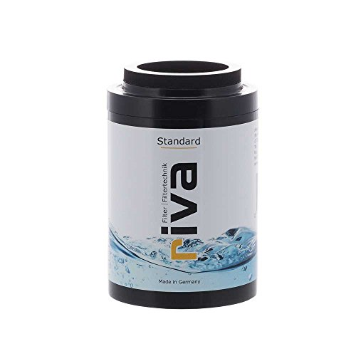 riva Filter Standard Duschfilter Ersatzkartusche l Wasserfilter für Haut und Haar I Filtert Chlor, Bakterien, Schadstoffe