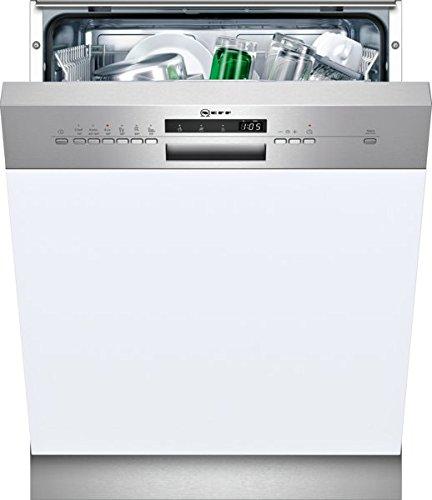 NEFF S413A60S0E Geschirrspüler teilintegriert N50 / 60 cm / Edelstahl / A+ / VarioSpeedPlus / 6 Programme