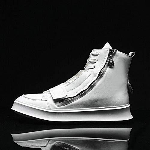 LLZGPZYDX sportschoenen, heren, casual schoenen, sneakers, hoog merk, zwart, wit, hip hopschoenen, modieus, comfortabele producten, voor heren, LK-63