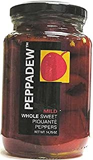 PEPPADEW Sweet Piquant Peppers, 14 Ounce