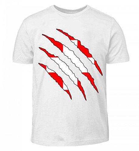Hochwertiges Kinder T-Shirt - Schweiz WM Fan Tshirt Schweizer Nationalmannschaft Shirt Trikot