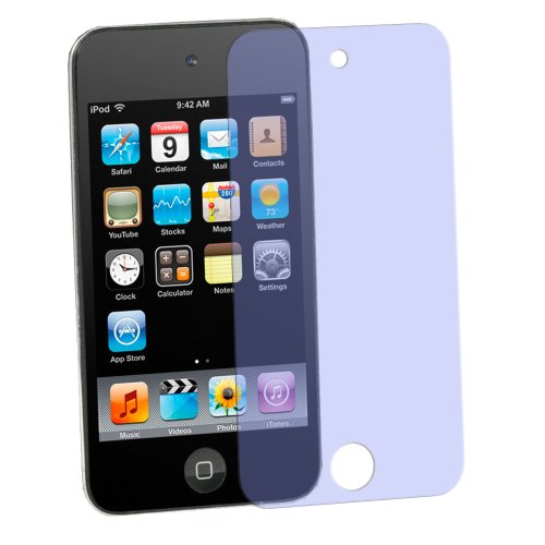 dipos I 2X Schutzfolie matt kompatibel mit Apple iPod Touch 4G (Modelle 2010 und 2011) Folie Displayschutzfolie