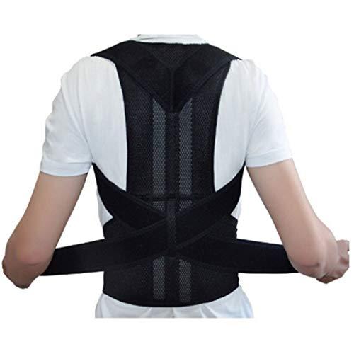 GoldPang Körperhaltung Korrektor Rücken Haltungskorrektur Geradehalter Schulter Haltungsbandage für Männer und Frauen Haltungskorrektur Geradehalter Rückenstütze Verbessert Haltung