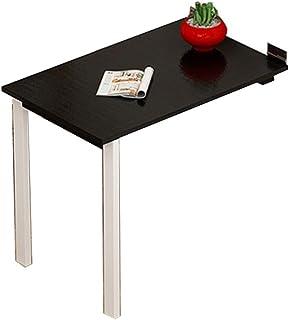 Tables HAIZHEN Pliable Pliante, télescopique Invisible fixée au Mur d'ordinateur de Noire et Blanche Stations de Travail i...