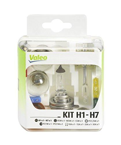 Valeo - H7 gabinete de Emergencia y 7 bulbos h1 12 voltios valérie  o 032 308