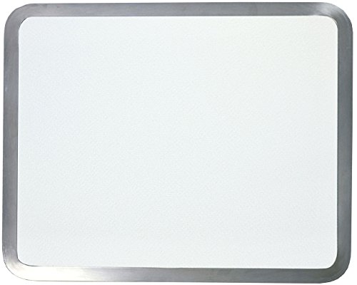 """Vance Surface Saver 16 X 20"""" White Built-in Surface Saver Tempered Glass Cutting Board, White"""