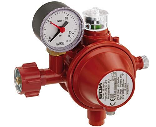 GOK Haushaltsregler / Gasregler für den Einsatz in geschlossenen Räumen, Betriebsdruck:50 mbar mit SBS