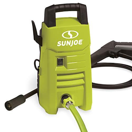 Sun Joe SPX201E 1350 Max PSI 1.45 GPM 10-Amp Electric Pressure Washer, Green