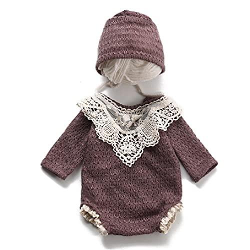 Baby Hut Strampler Set Neugeborenen Fotografie Requisiten Motorhaube Mütze Overall Anzug Outfit Kleinkinder Fotoshooting Kleidung Kit Fotoshooting