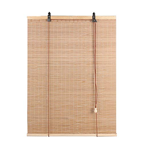 Bambusrollo Lichtfilter Rollos, für Terrassentee Raumtrenner, Bambus Rollo, 80cm / 90cm / 100cm / 110cm / 120cm / 135cm Breit (Size : 120cm×160cm)