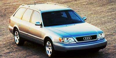 1998 Audi A6 Quattro, 4-Door Wagon Quattro All Wheel Drive (CA/ ...