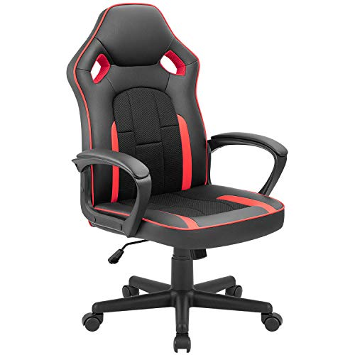 Tuoze Gaming Chair Office Desk Chair Racing Style High Back Leather Chair...
