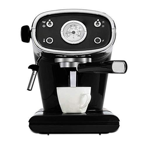 ECSWP Cafetera, cafetera semiautomática, cafetera Espresso, cafetera de Alta presión, Aspecto clásico, Hermosa Forma